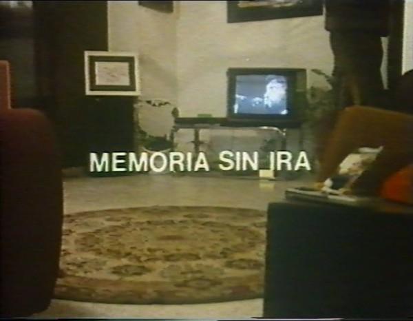 Memoria sin ira, Gonzalo García Pelayos 1987