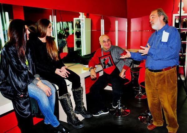 Rocío Durán, Mayka Romero, rafael Rabay y Gonzalo García Pelayo en Copla