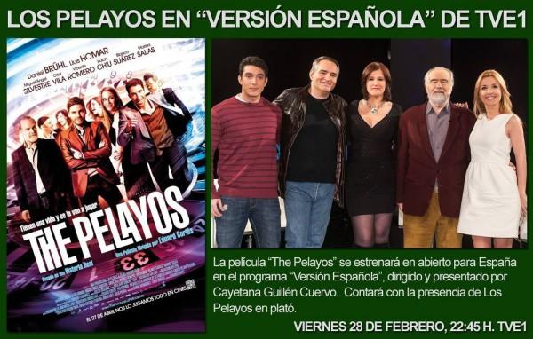 """""""Versión española"""" Entrevista a Los Pelayos"""