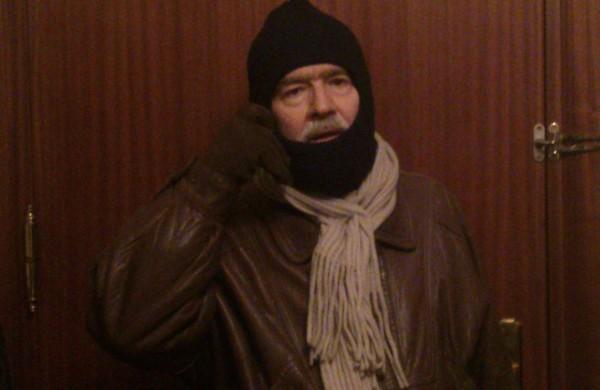Gonzalo García Pelayo en el montaje de Copla