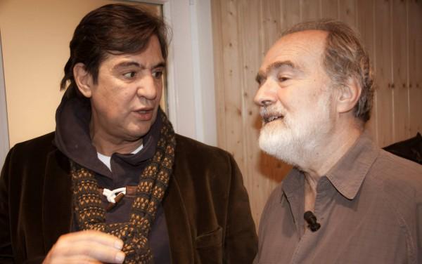 Manolo Tena y Gonzalo García Pelayo