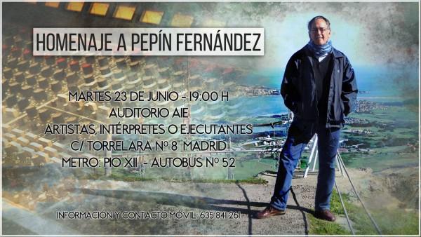Homenaje a Pepín Fernández