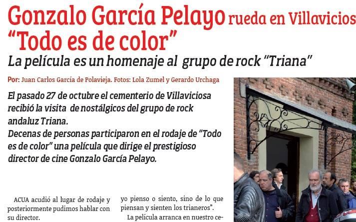 Acua, Todo es de color, Gonzalo García Pelayo