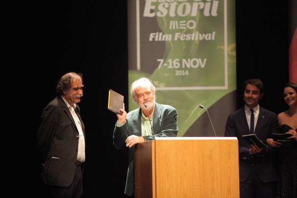 Premio a Gonzalo Garcia Pelayos en el festival de Lisboa y Estoril