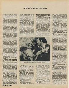 Entrevista a Victor Jara