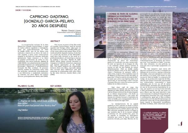 Capricho gaditano Revista Ombligo