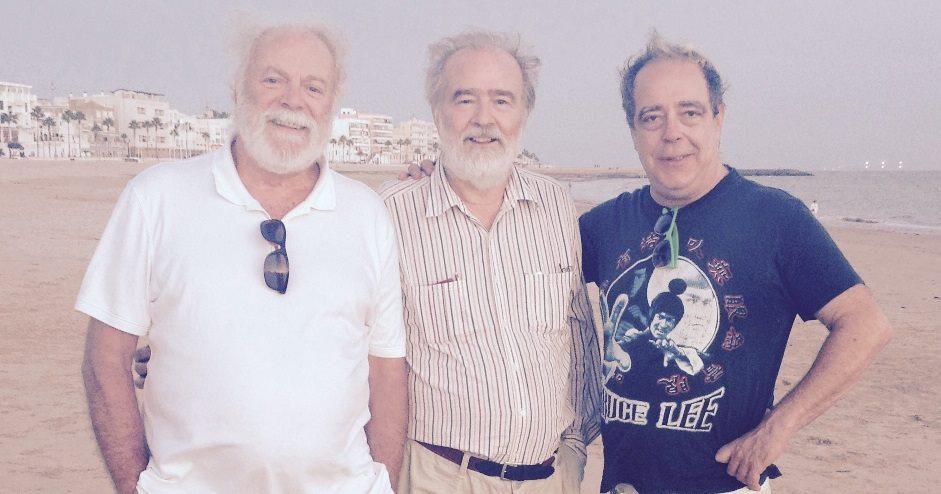 Gonzalo con Jose Enrique y Paco Millan