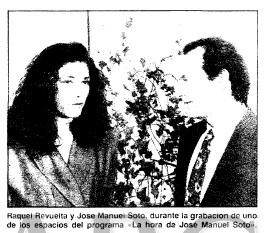 Gonzalo Garcia Pelayo, La hora de Jose Manuel Soto Canal Sur