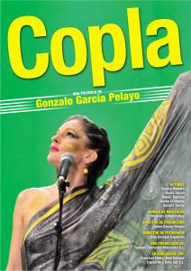 Cartel película Copla de Gonzalo García Pelayo