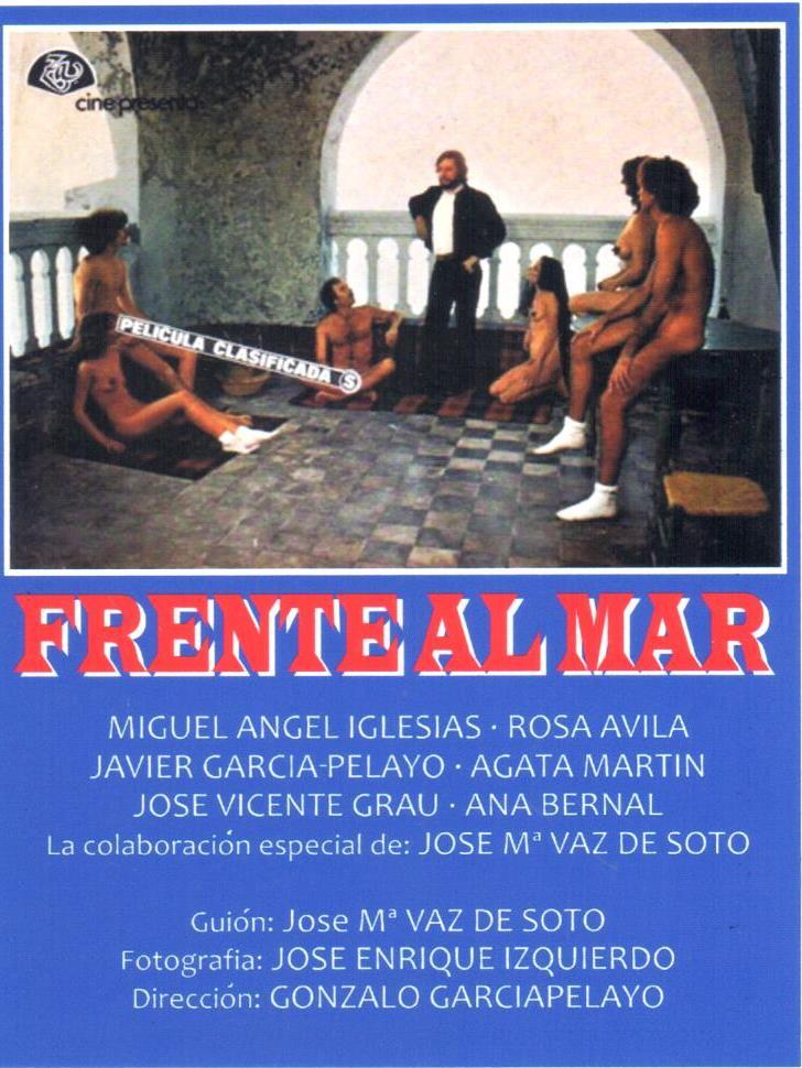 Cartel película Frente al mar de Gonzalo García Pelayo