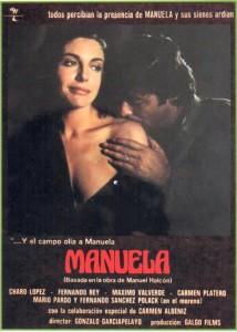 Cartel dela pelicula Manuela