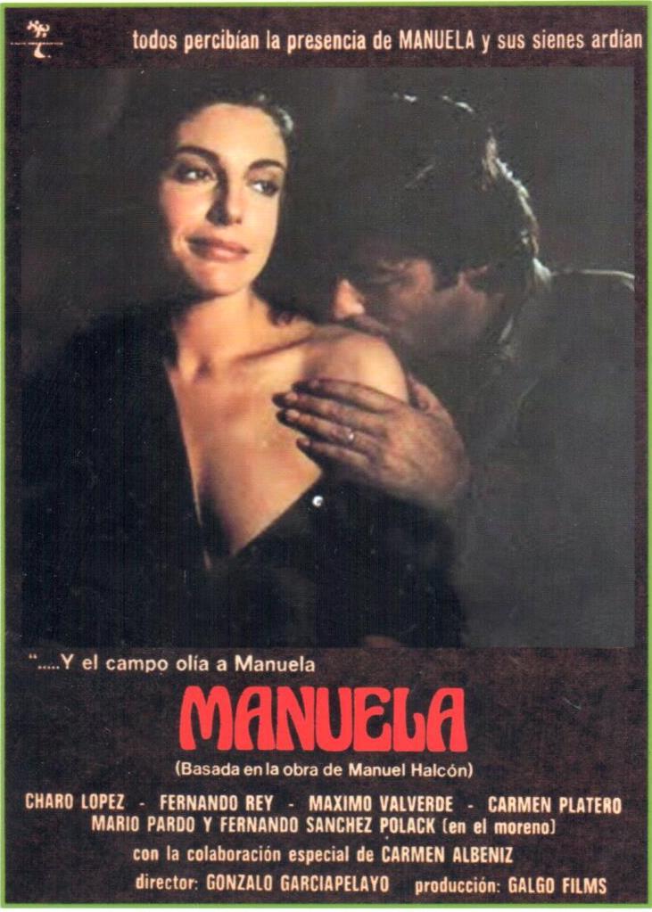 Cartel película Manuela de Gonzalo García Pelayo