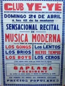 Cartel Musica moderna