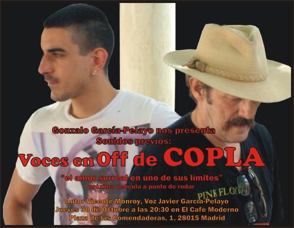 Cartel Off de COPLA de Gonzalo García Pelayo
