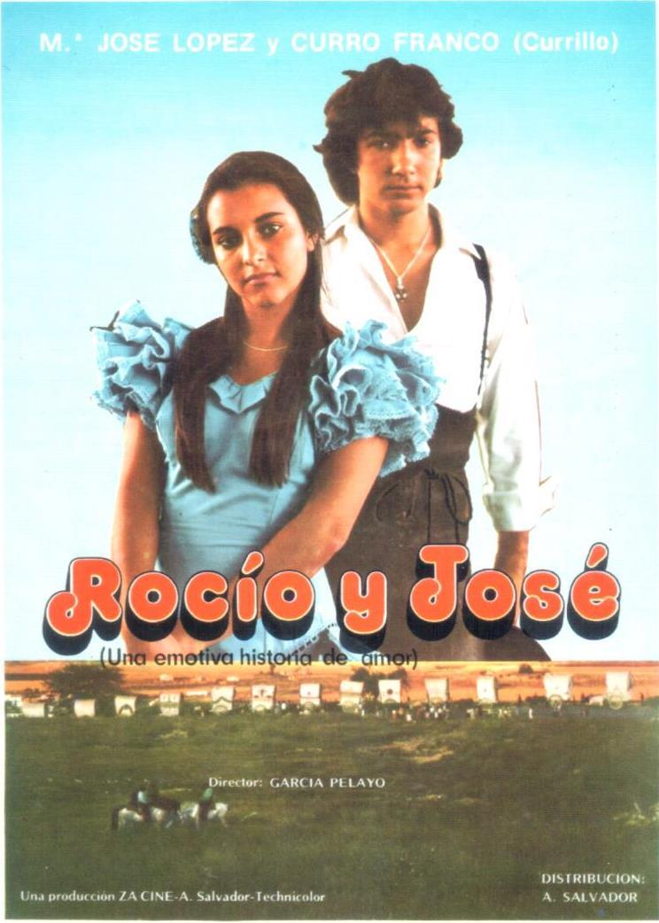 Cartel película Rocío y José de Gonzalo García Pelayo