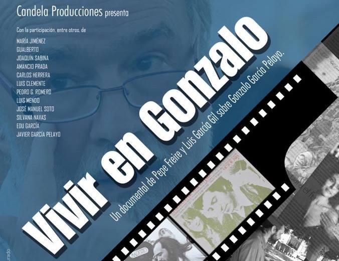 Cartel Vivir en Gonzalo García Pelayo