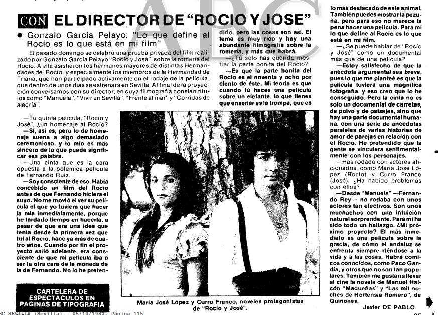 ABC Con el directo de Rocio y Jose García Pelayo