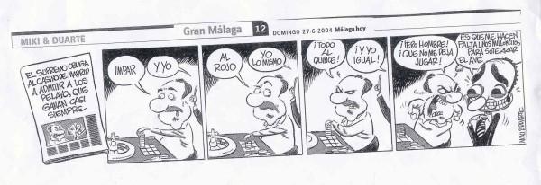 Tira de comic representando a Gonzalo Garcia Pelayo y la sentencia a su favor del tribunal Supremo