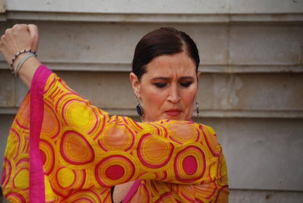Vanessa bailando en Niñas película de Gonzalo García Pelayo