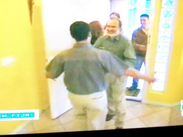 Escena Documentos TV Gonzalo Pelayo visita a Mortensn en su casa de Las Vegas