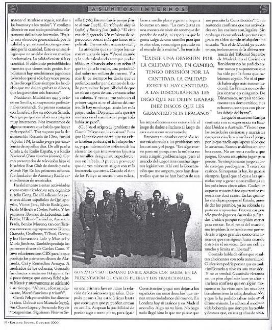 Rolling Stone El no va mas de Pelayo 2