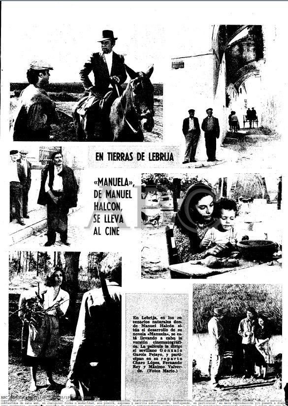 ABC Manuela En tierra de Lebrija, Gonzalo García Pelayo