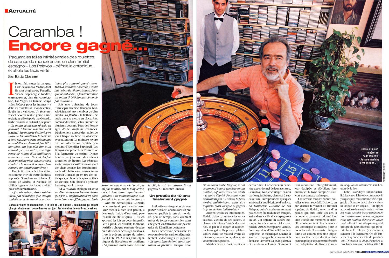 Los Pelayos en Le Figaro