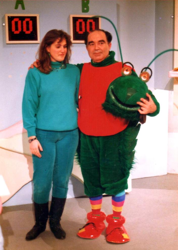 Verde, verde, Federico Rivelott y Vanessa García-Pelayo programa de Canal Sur dirigido por Gonzalo García Pelayo