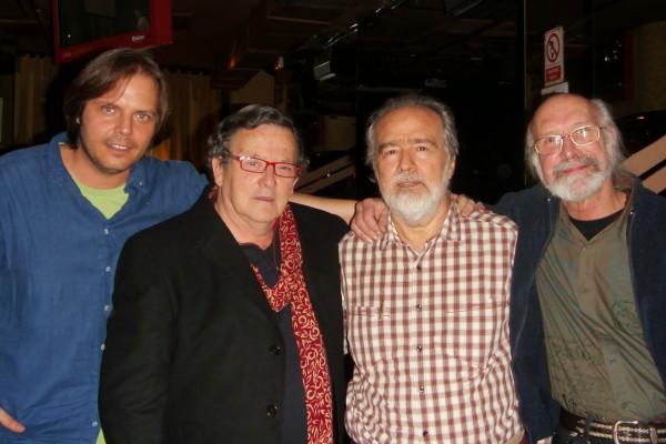 Fotos con historia Gonzalo García Pelayo, Fernando Lucini, Fernando Arduan y Flaco Barral