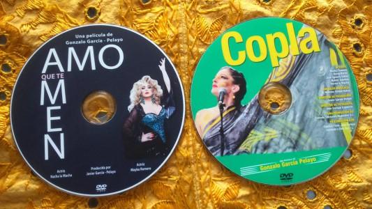 Galletas DVDs Copla y Amo que te Amen de Conzalo García Pelayo