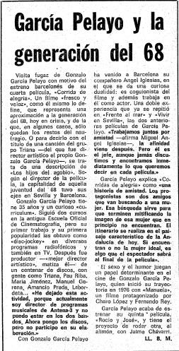 Garcia Pelayo y la generacion del 68