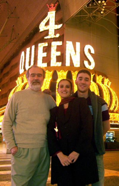 Gonzalo Vanessa y Oscar Pelayo en Las Vegas
