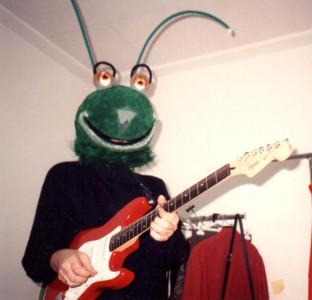 Grillo guitarrista programa Verde Verde de Canal Sur dirigido por Gonzalo García Pelayo