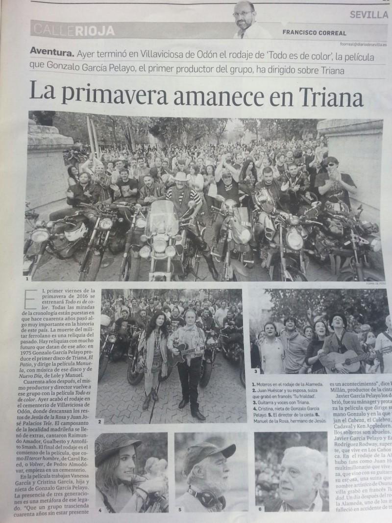 Diaro de Sevilla, Todo es de Color de Gonzalo García Pelayo