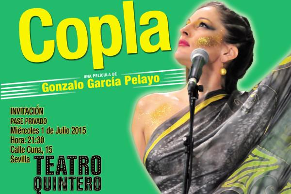 Invitacion Copla, Teatro Quintero