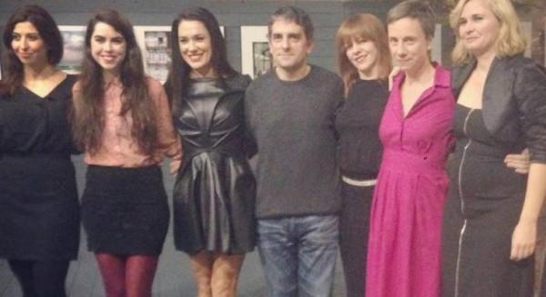 Jordi Costa y el elenco de la Lava en los Labios