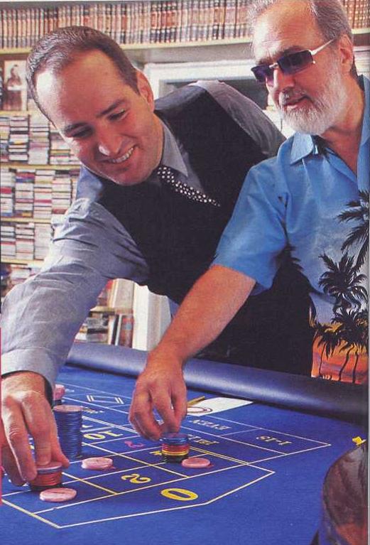 Ivan y Gonzalo Garcia Pelayo en el Semanal