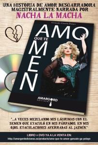 Libro y DVD Amo que te amen una película de Gonzalo García Pelayo