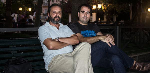 Luis Garcia Gil y Pepe Freire Vivir-en-Gonzalo García Pelayo