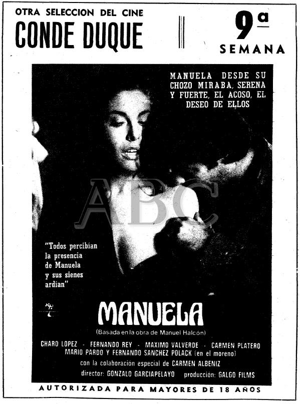 ABC Manuela en Conde duque 9semana Gonzalo García Pelayo