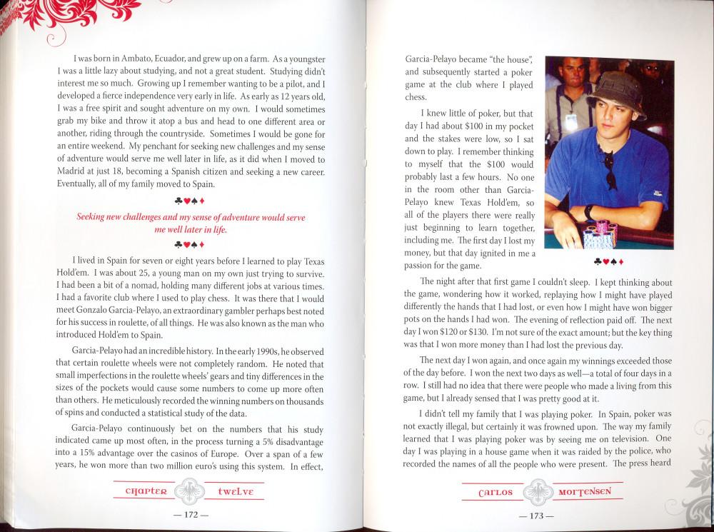 Juan Carlos Mortensen Libro Deal Me In 1habla de Gonzalo García Pelayo