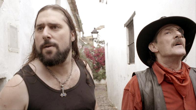 """Luis y Javier en """"Todo es de Color"""" película de Gonzalo García Pelayo"""